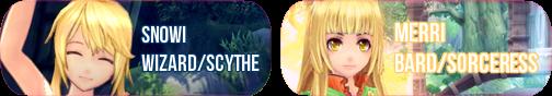 My Aura Kingdom characters by EternalMystDesigns