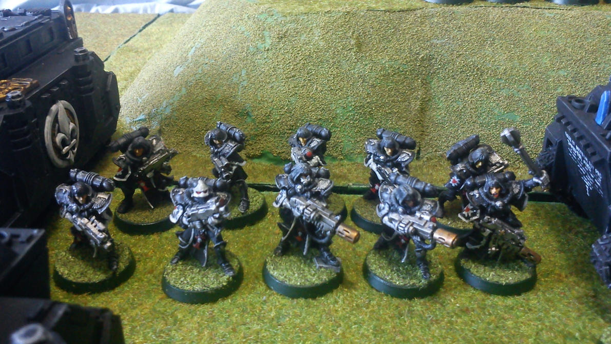 battle sister squard by - photo #30
