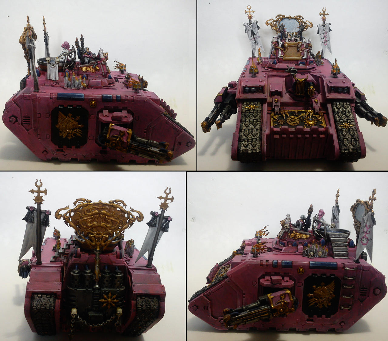 Violator, Emperor's Children Land Raider by Majere613