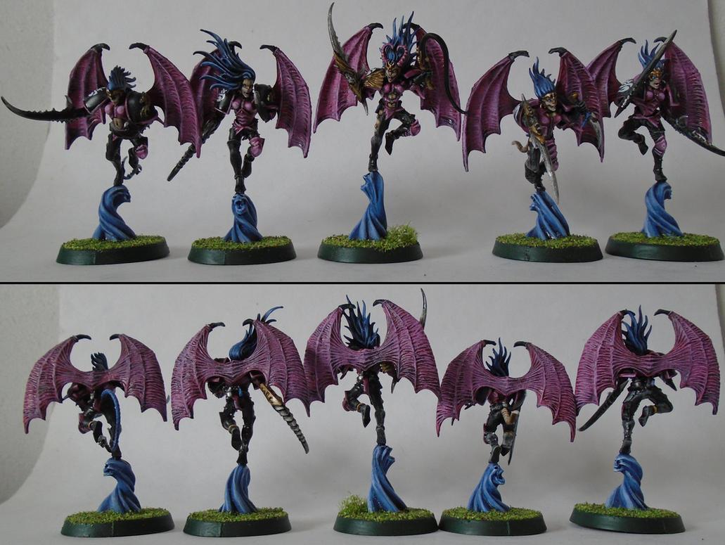 Squad Babylon: Warp Talons of Slaanesh by Majere613