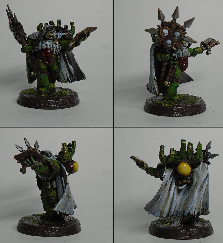 Thelonius Bubonicus, Dark Apostle of Nurgle by Majere613