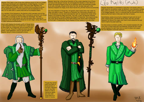 Magisters of the Lily College