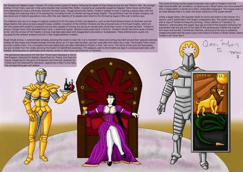 Her Exceptional Majesty, Queen Tondarin III
