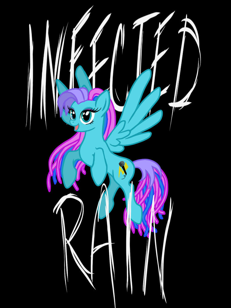 Lena the pony -Infected Rain by LisaKillings