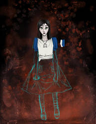 WIP American McGee's Alice by flyingbicyle