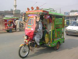 Auto Rakshaw by zamir