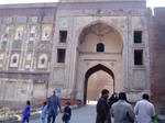 entering lahore fort