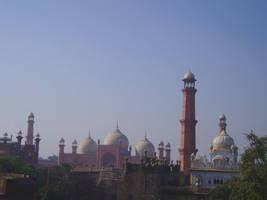 The Badshahi Masjid II by zamir
