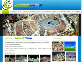andalustaibah.com layout by zamir