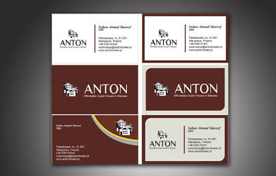 Antonhostel | Visiting Card by zamir