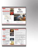 Antonhostel | leaflet II mokup by zamir