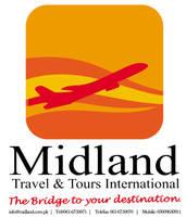 midland travels  tours logo by zamir