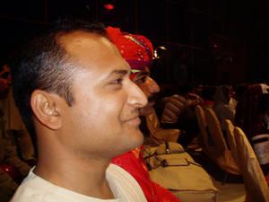 In  a Sufi Festival.