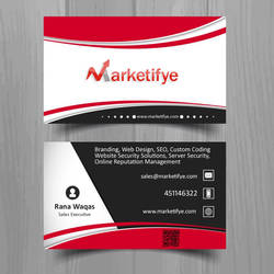 Marketifye business card