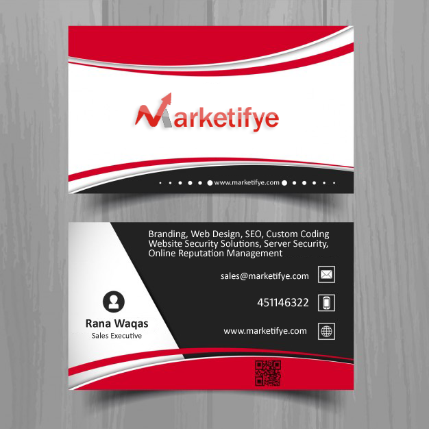 Marketifye business card
