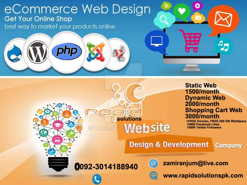 Ecommerce-Website-Developme Offer by zamir