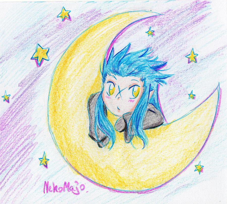 Moon chibi by NekoMajo
