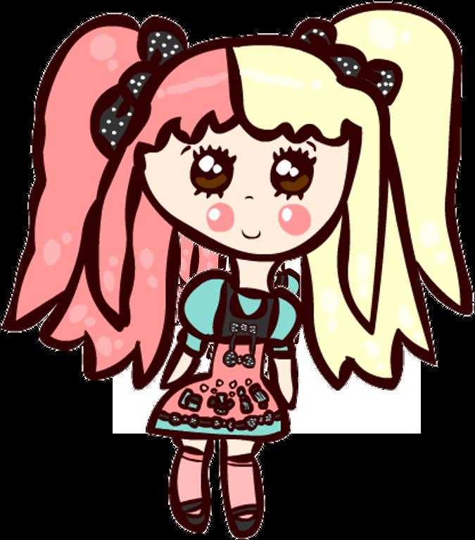 Kawaii Steffne Chibi by Faery-Rainbow