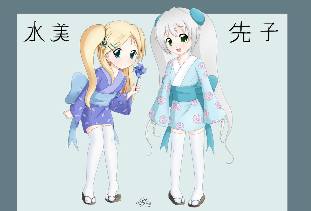 Sakiko and Mizumi by chiisai-kotoba