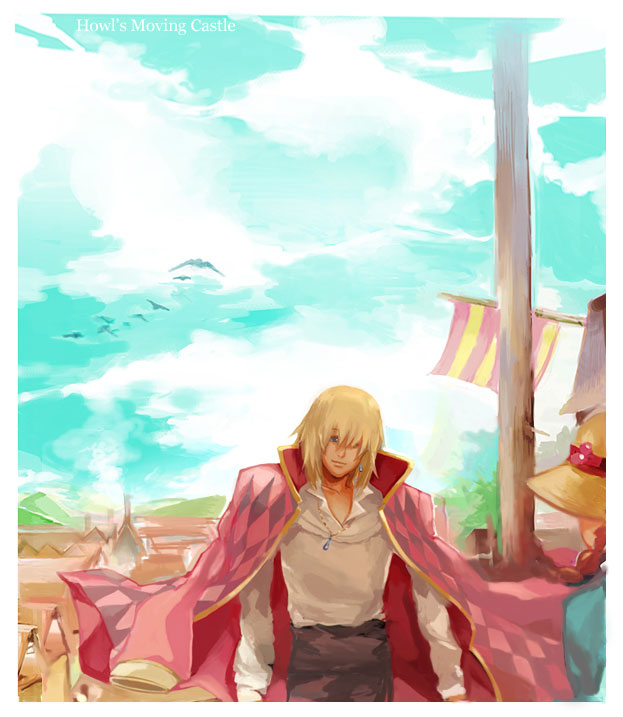 Howl's Moving Castle by Athena-chan
