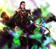 God of Mischief by Athena-chan