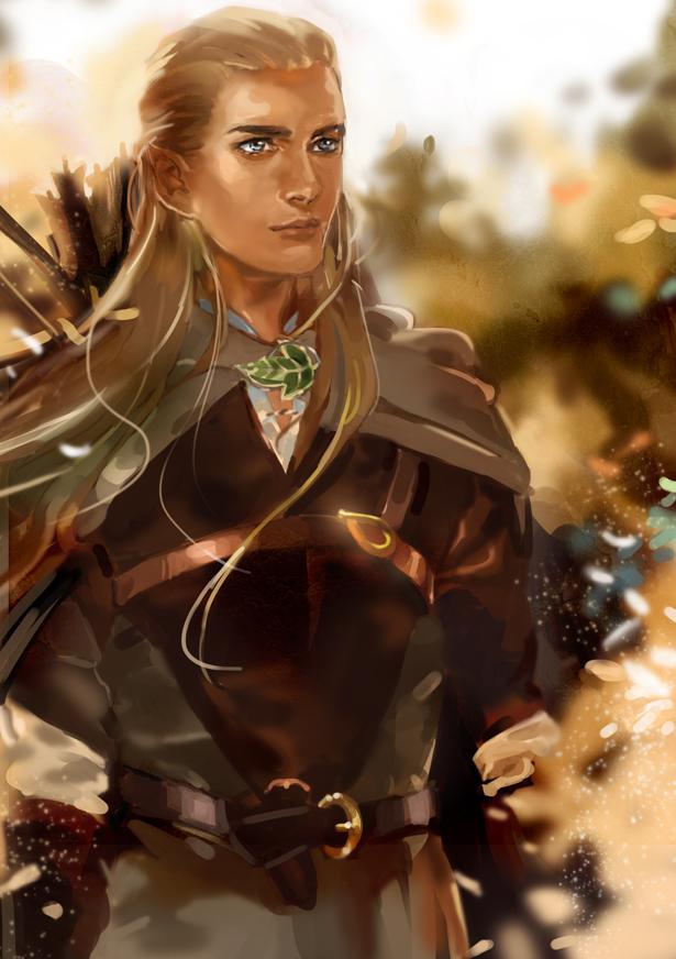 Legolas by Athena-chan