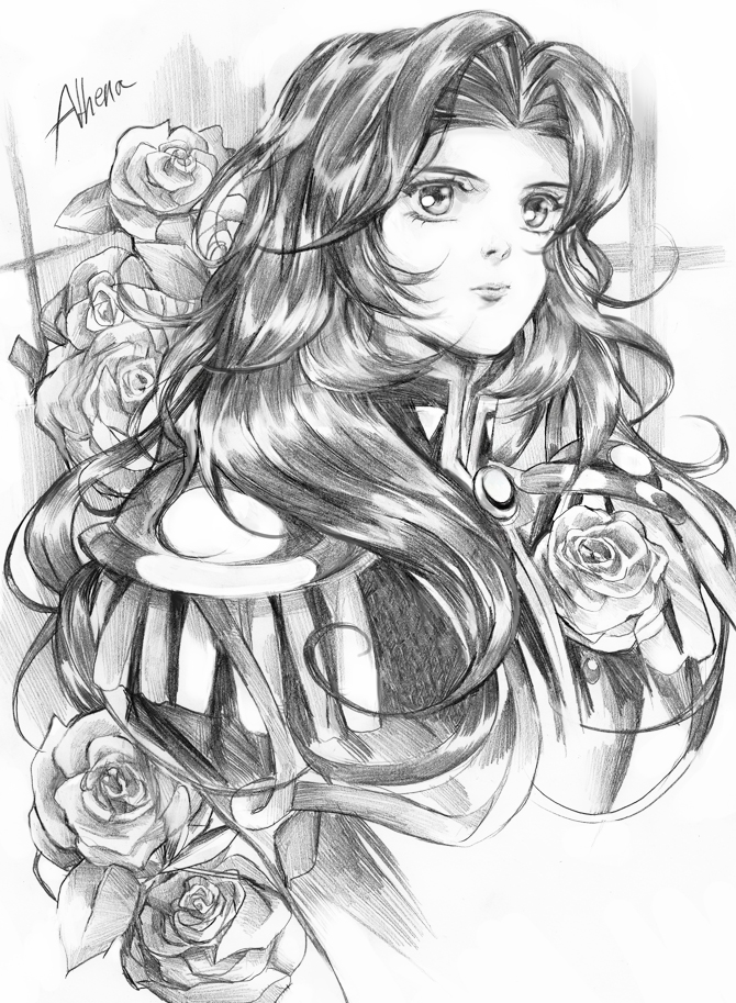 Pencil Utena by Athena-chan