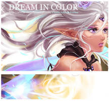 Dream in Color Artbook Preview