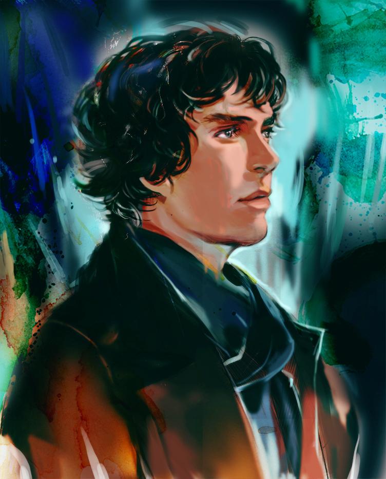 Sherlock by Athena-chan