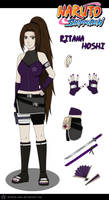 New Shippuuden Outfit Ritana Hoshi by Ritana-chan