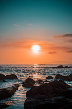 SUNSET IN VIGO, GALICIA, SPAIN. X EDELPEREIRA