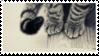 Cat Paws Stamp [f2u]