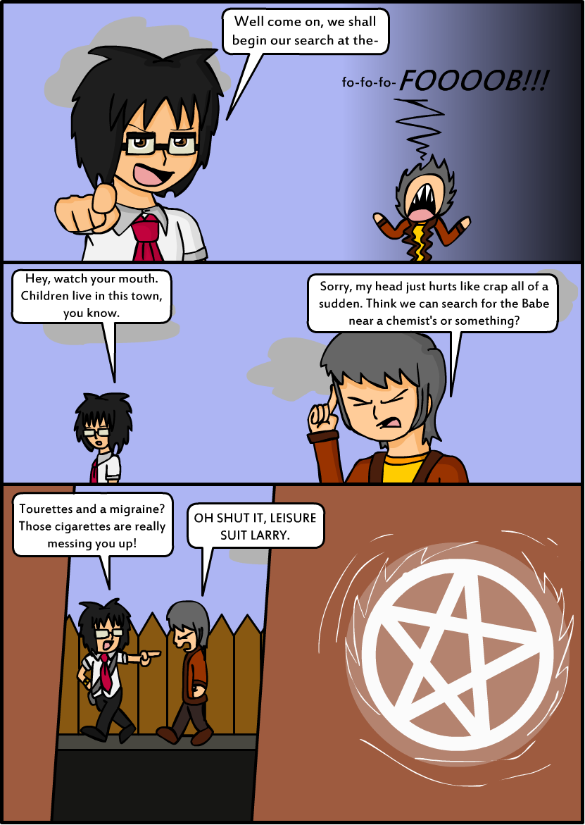 Fob - Chapter 1 Page 12
