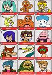 101 Character Meme Part 4
