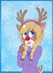 Red Nosed Deersona