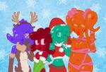 Festive Slime Squad