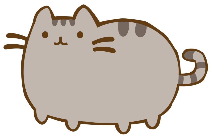Pusheen Cat PNG By Nenaiyah25 ...