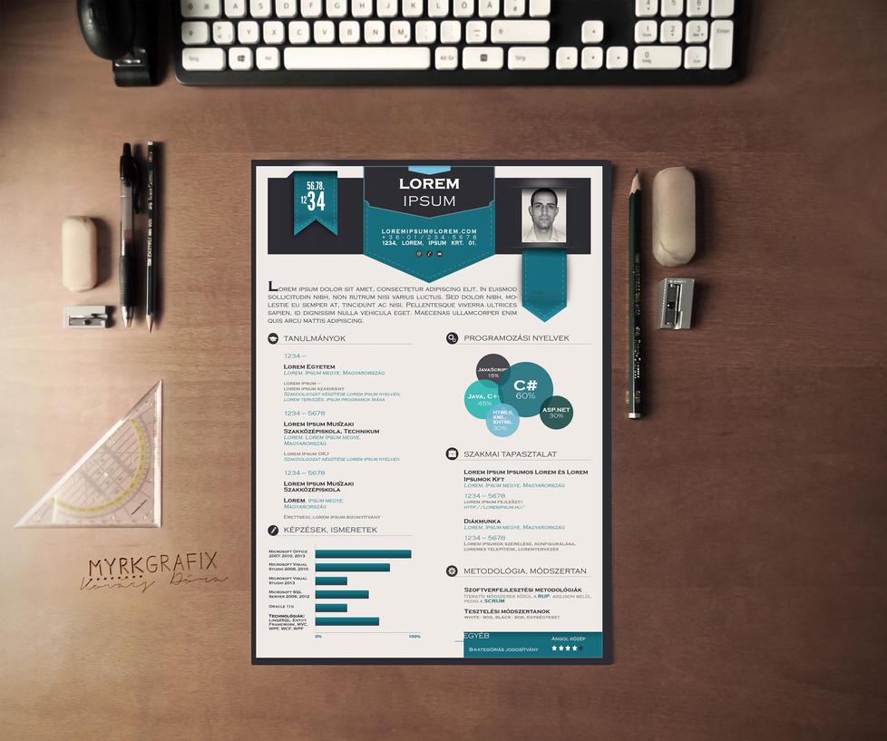 New CV design by me :3 by d0ramYrk on DeviantArt