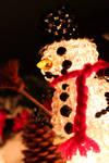 Snowman Shining......