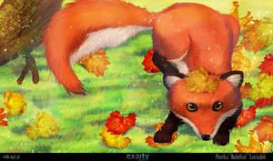 fox by RudeOwl