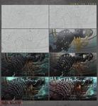 Step by step -Black Vertebra