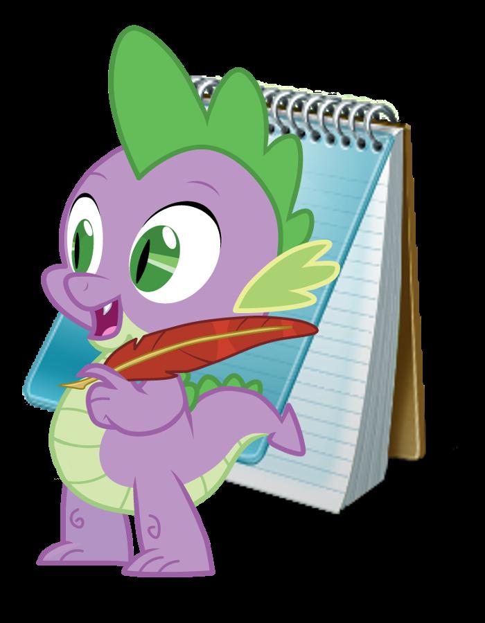 Spike Note Pad Icon by LovelyNeko-MeE0w