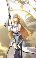Jeanne d'Arc by Faucon320