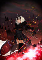 Fate Jeanne d'Arc (Alter) by Faucon320