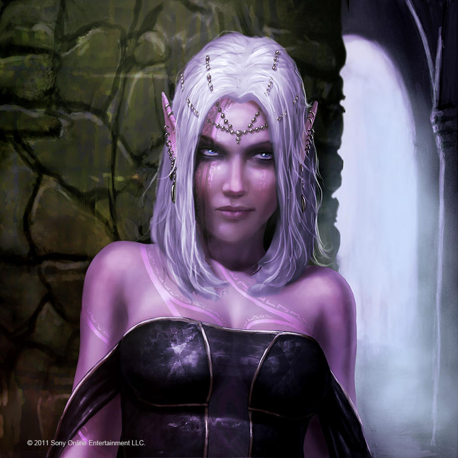 dark elf avatar by graysun d on deviantart