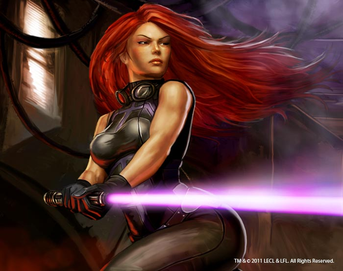 Mara Jade Star Wars By Graysun D On Deviantart
