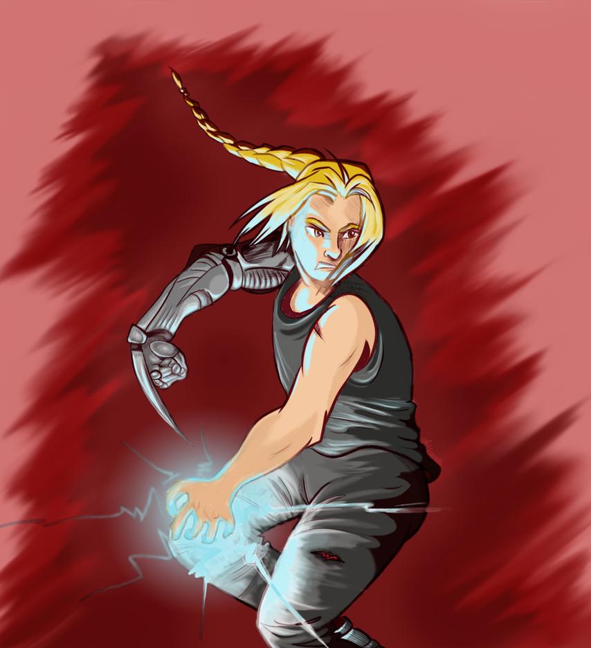 The Fullmetal Alchemist by Filiasyth-V
