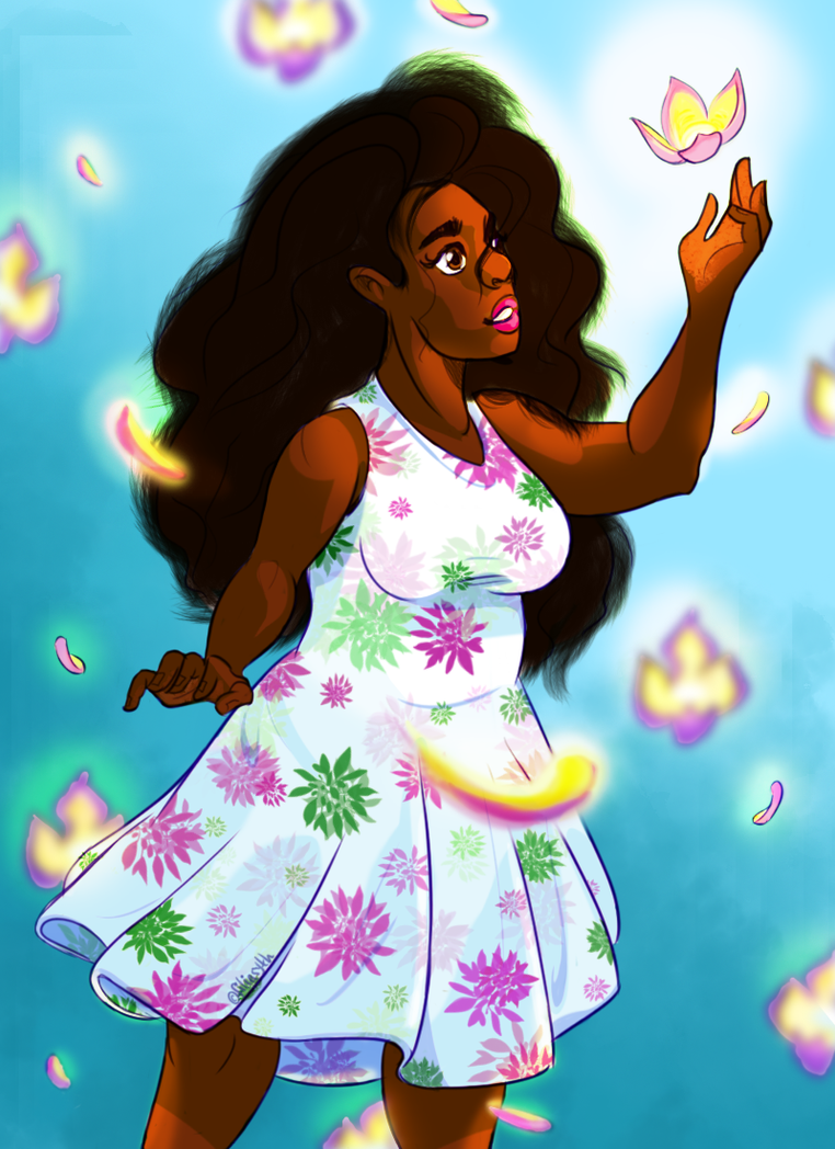 flower girl by Filiasyth-V