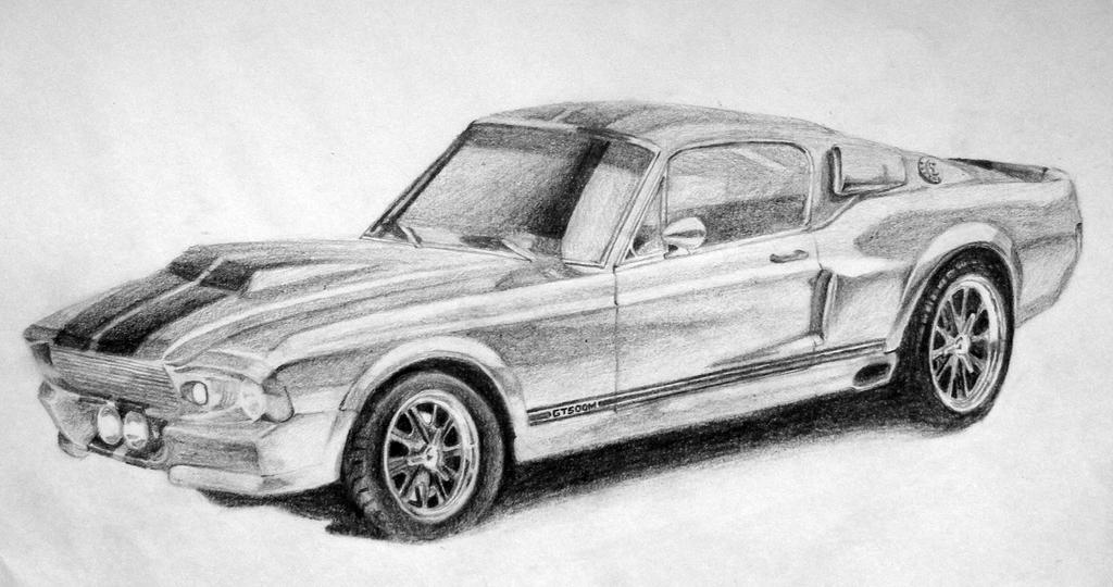 1967 Ford Mustang Drawings