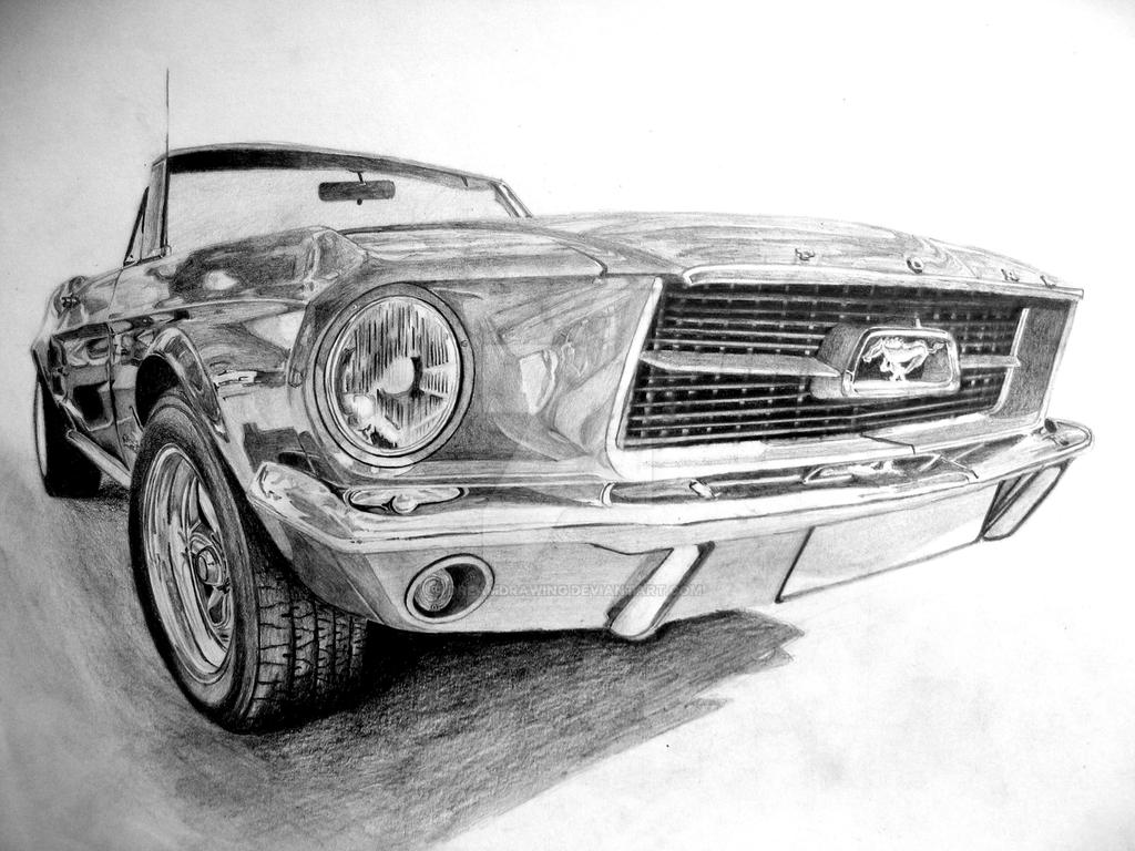ford mustang before coloring by dreamdrawing on deviantart. Black Bedroom Furniture Sets. Home Design Ideas